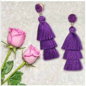 New tassel earrings